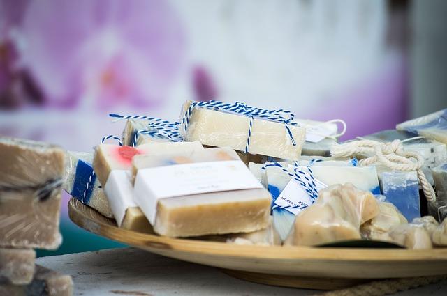 dekorační mýdla