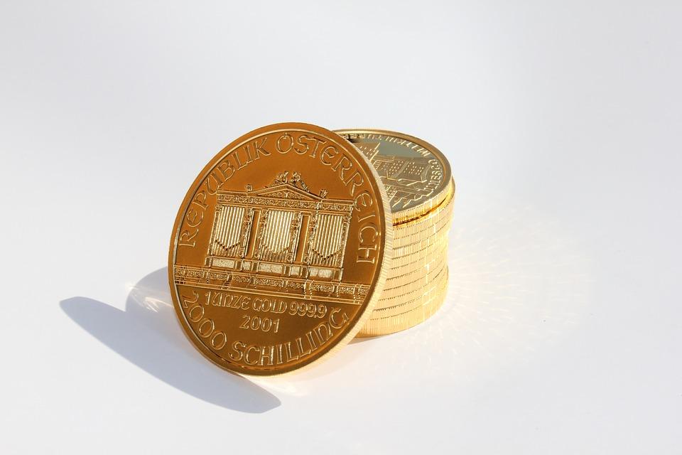 mince zlaté