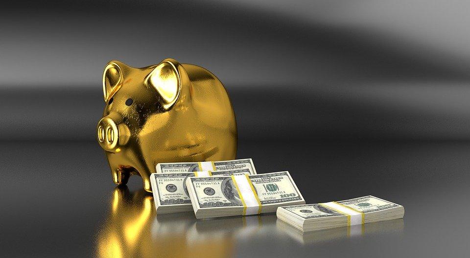 prasátko a dolary